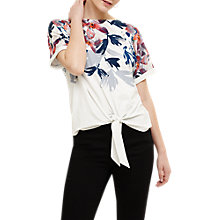 Buy Phase Eight Maddie Print Long Sleeve Top, Multi Online at johnlewis.com