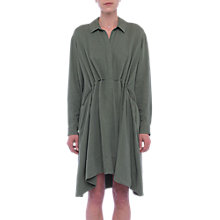 Buy French Connection Ellesmere Drape Dress, Shady Meadow Online at johnlewis.com