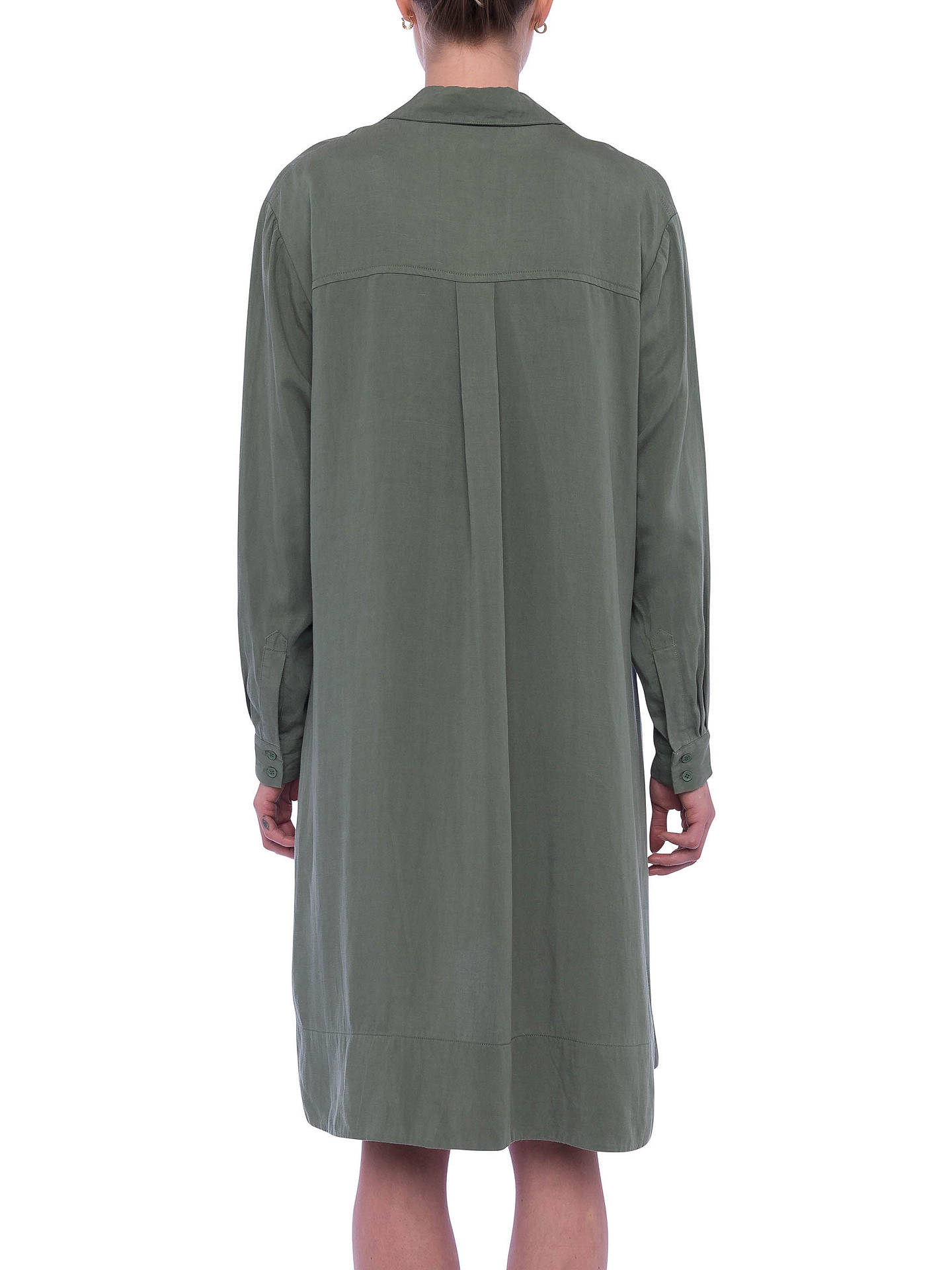 Buy French Connection Ellesmere Drape Dress, Shady Meadow, 6 Online at johnlewis.com