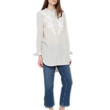Buy French Connection Armona Stripe Shirt, Summer Stripe Online at johnlewis.com