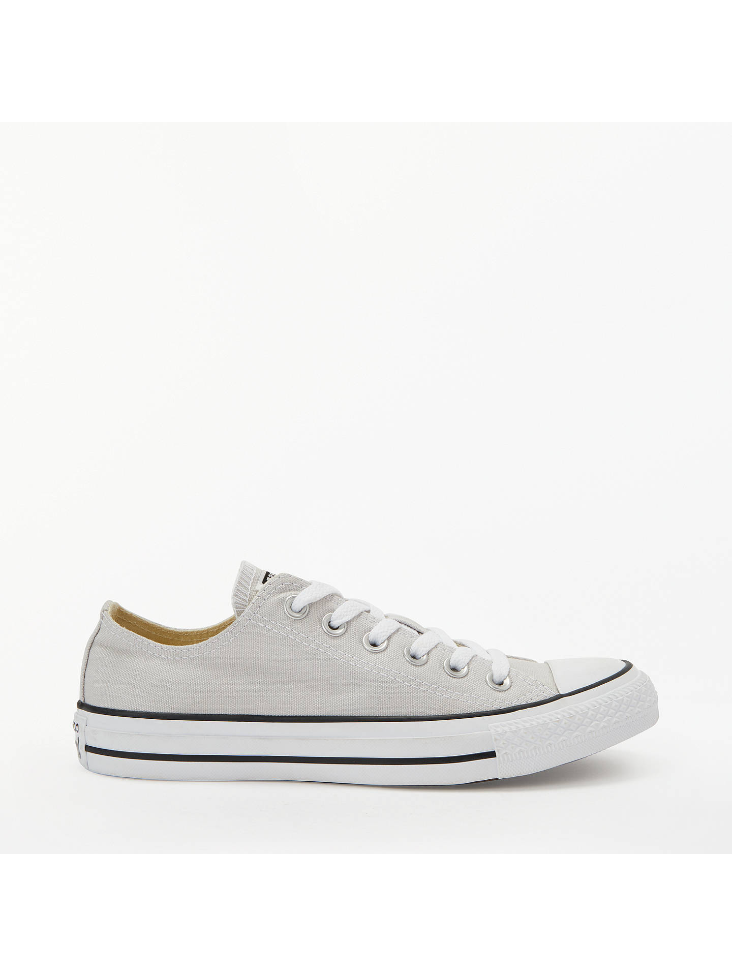 check out ea88f 4692d Buy Converse Chuck Taylor All Star Women s Canvas Ox Low-Top Trainers,  Mouse Grey ...