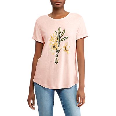 Lauren Ralph Lauren Floral T-Shirt, English Rose