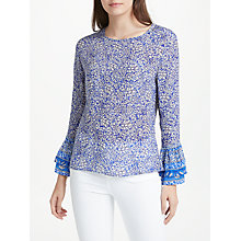 Buy Lily and Lionel Santorini Ella Top, Blue Online at johnlewis.com