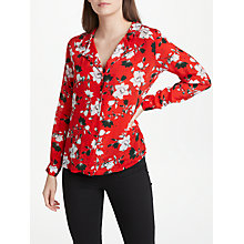 Buy Lily and Lionel Magnolia Girlfriend Shirt, Red Online at johnlewis.com