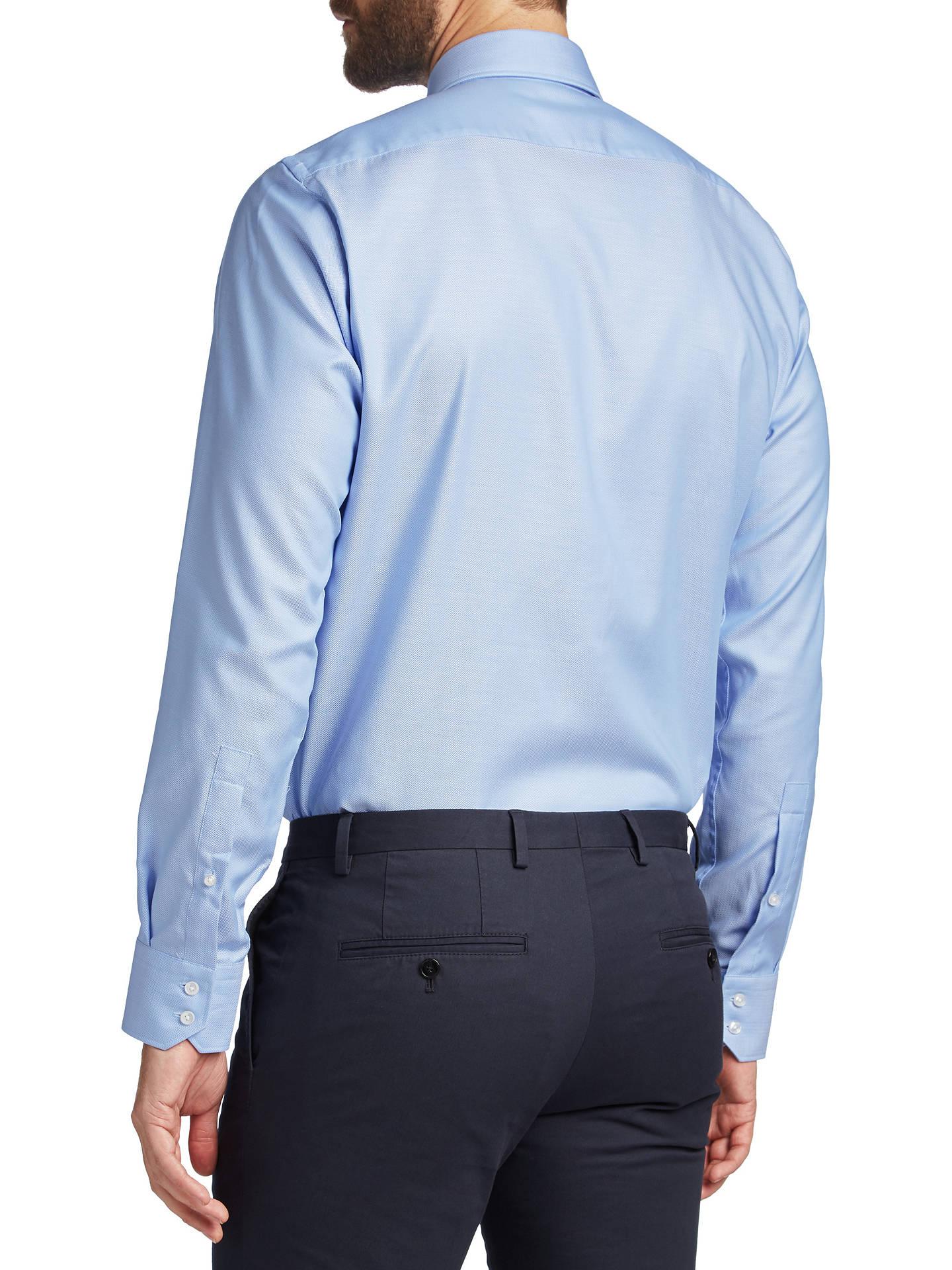innovatives Design schön und charmant Entdecken Sie die neuesten Trends HUGO by Hugo Boss Enzo Easy Iron Cotton Regular Fit Shirt ...