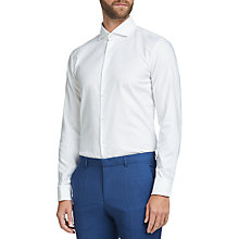 Buy HUGO by Hugo Boss C-Jales Slim Fit Dress Shirt, Open White Online at johnlewis.com