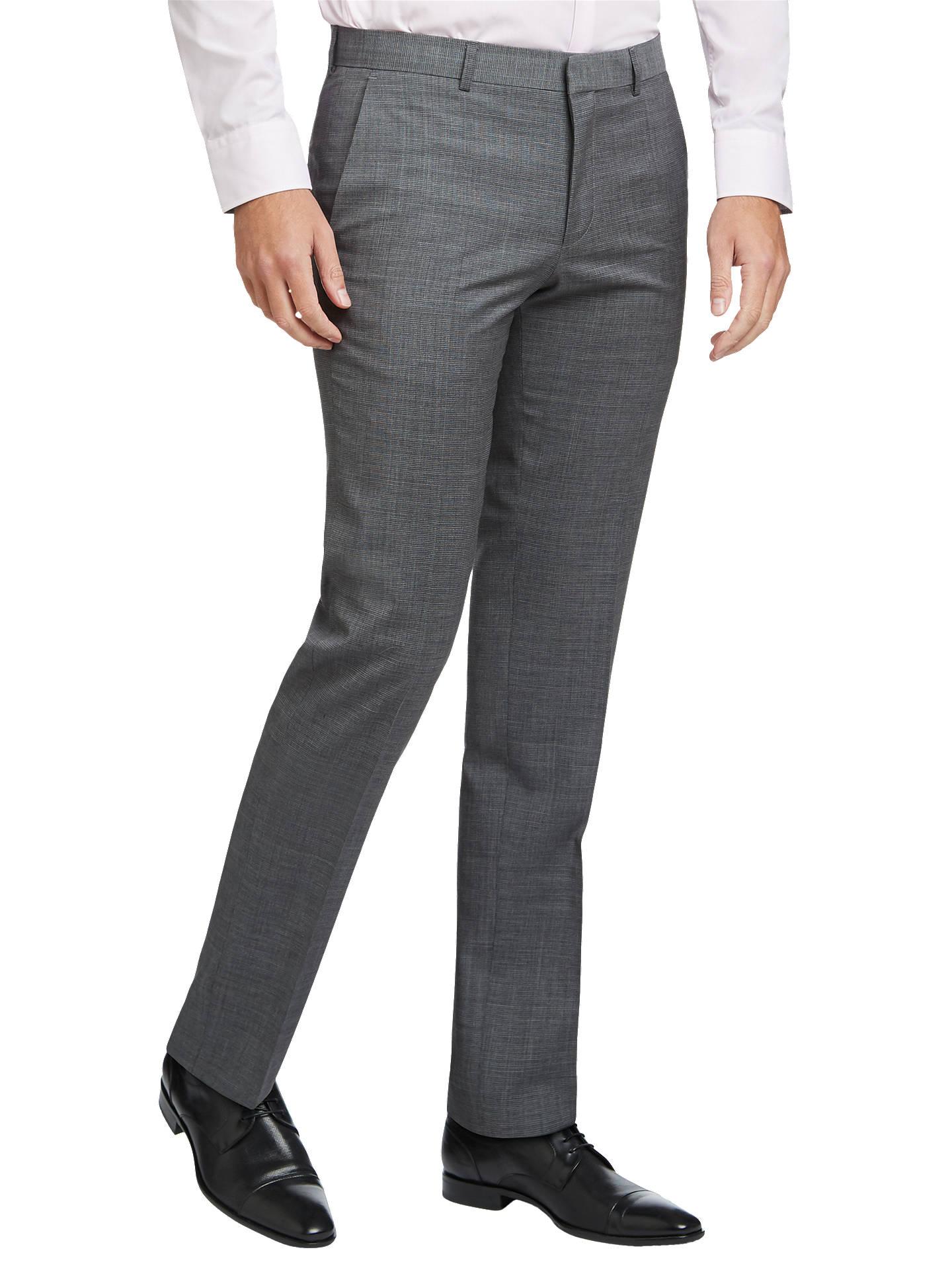 c2068eb09 Buy HUGO by Hugo Boss Henry/Griffin Virgin Wool Slim Fit Suit Trousers,  Open ...