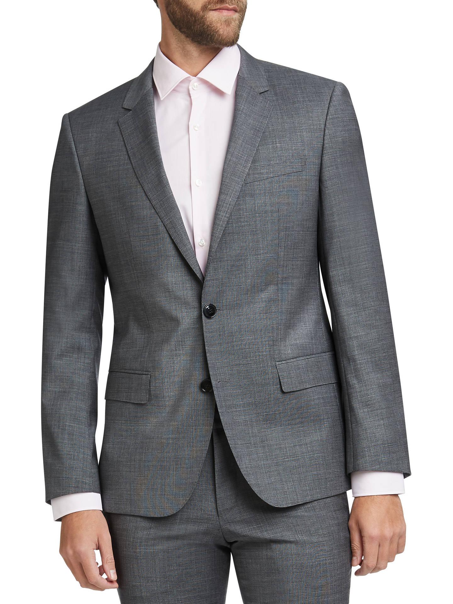 6694aa589 Buy HUGO by Hugo Boss Henry/Griffin Virgin Wool Slim Fit Suit Jacket, Open  ...