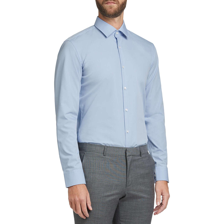 BuyHUGO by Hugo Boss C-Joey Slim Fit Shirt, Light Blue, 15 Online ...