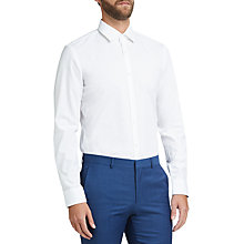 Buy HUGO by Hugo Boss C-Joey Easy Iron Cotton Slim Fit Shirt, Open White Online at johnlewis.com