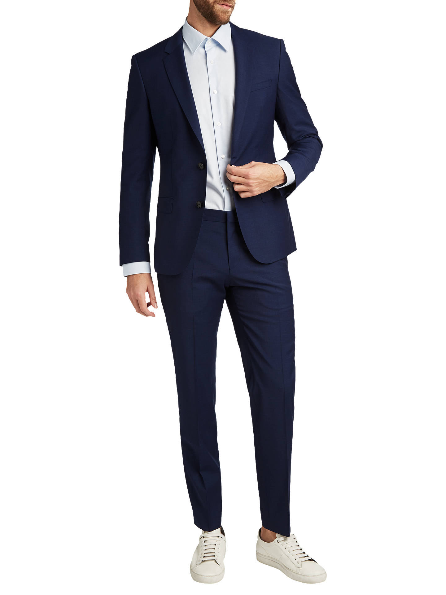 cbbbd9924 ... Buy HUGO by Hugo Boss Henry/Griffin Virgin Wool Slim Fit Suit Jacket,  Navy ...