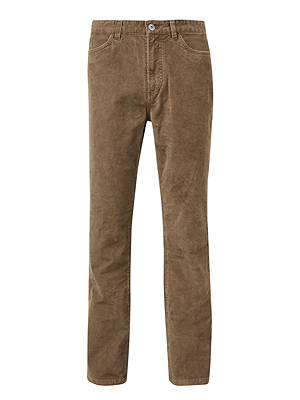 BuyJohn Lewis & Partners Needle Cord Trousers, Taupe, 32S Online at johnlewis.com