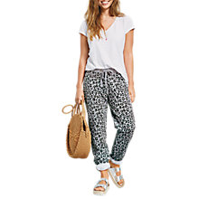 Buy hush Leopard Print Joggers, Green Leopard Online at johnlewis.com