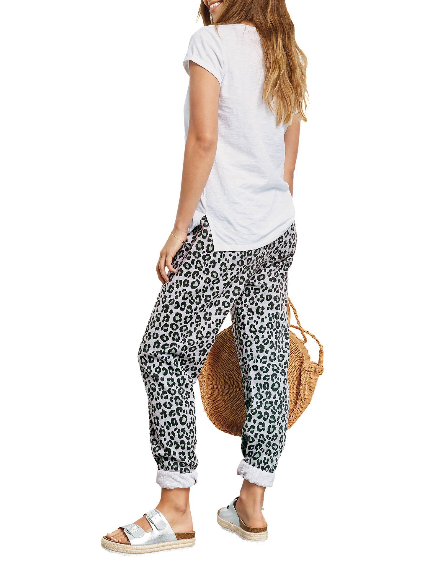 4b5dd50c70af ... Buy hush Leopard Print Joggers, Green Leopard, XS Online at  johnlewis.com ...