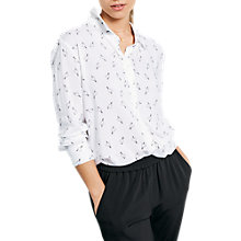 Buy hush Sintra Shirt, Tattoo Heart White/Black Online at johnlewis.com