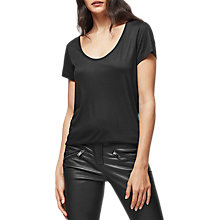 Buy Reiss Kelly Scoop T-Shirt Online at johnlewis.com