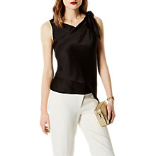 Buy Karen Millen Knot And Drape Top Online at johnlewis.com