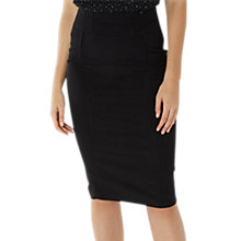 Buy Coast Kylie Pencil Skirt, Black Online at johnlewis.com