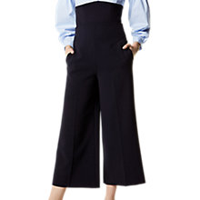 Buy Karen Millen Tailored Culottes, Navy Online at johnlewis.com