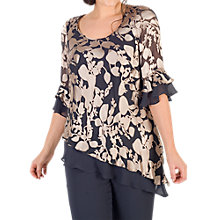 Buy Chesca Leaf Devoree Top, Multi Online at johnlewis.com