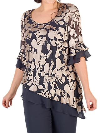 Chesca Leaf Devoree Top, Multi