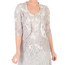Buy Chesca Ombre Cornelli Lace Jacket, Ivory Online at johnlewis.com
