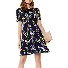 Buy Karen Millen Floral Print Dress, Multi Online at johnlewis.com