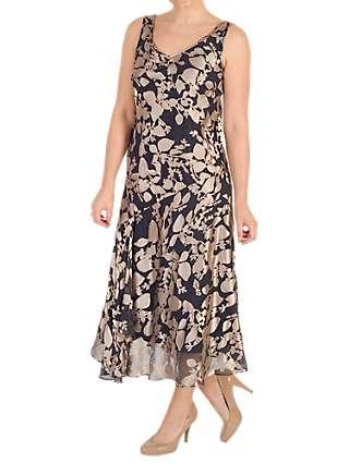 Chesca Leaf Devoree Dress, Multi