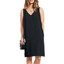 Buy hush Delilah Fringe Dress, Black Online at johnlewis.com