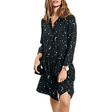 Buy hush Moon Stars Emanuelle Dress, Black Online at johnlewis.com