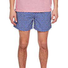 Buy Ted Baker Caven Geometric Swim Shorts Online at johnlewis.com