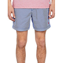 Buy Ted Baker Selwyn Stripe Swim Shorts Online at johnlewis.com