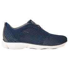 Buy Geox Nebula Trainers, Blue/Grey Online at johnlewis.com