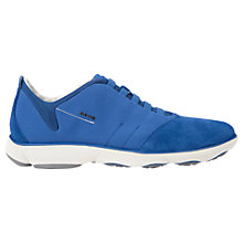 Buy Geox Nebula Breathable Trainers, Royal Blue Online at johnlewis.com