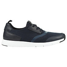 Buy Geox Snapish Textured Trainers Online at johnlewis.com