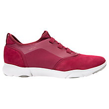 Buy Geox Nebula Breathable Trainers, Ruby Online at johnlewis.com