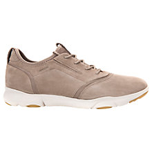 Buy Geox Nebula Breathable Trainers, Taupe Online at johnlewis.com
