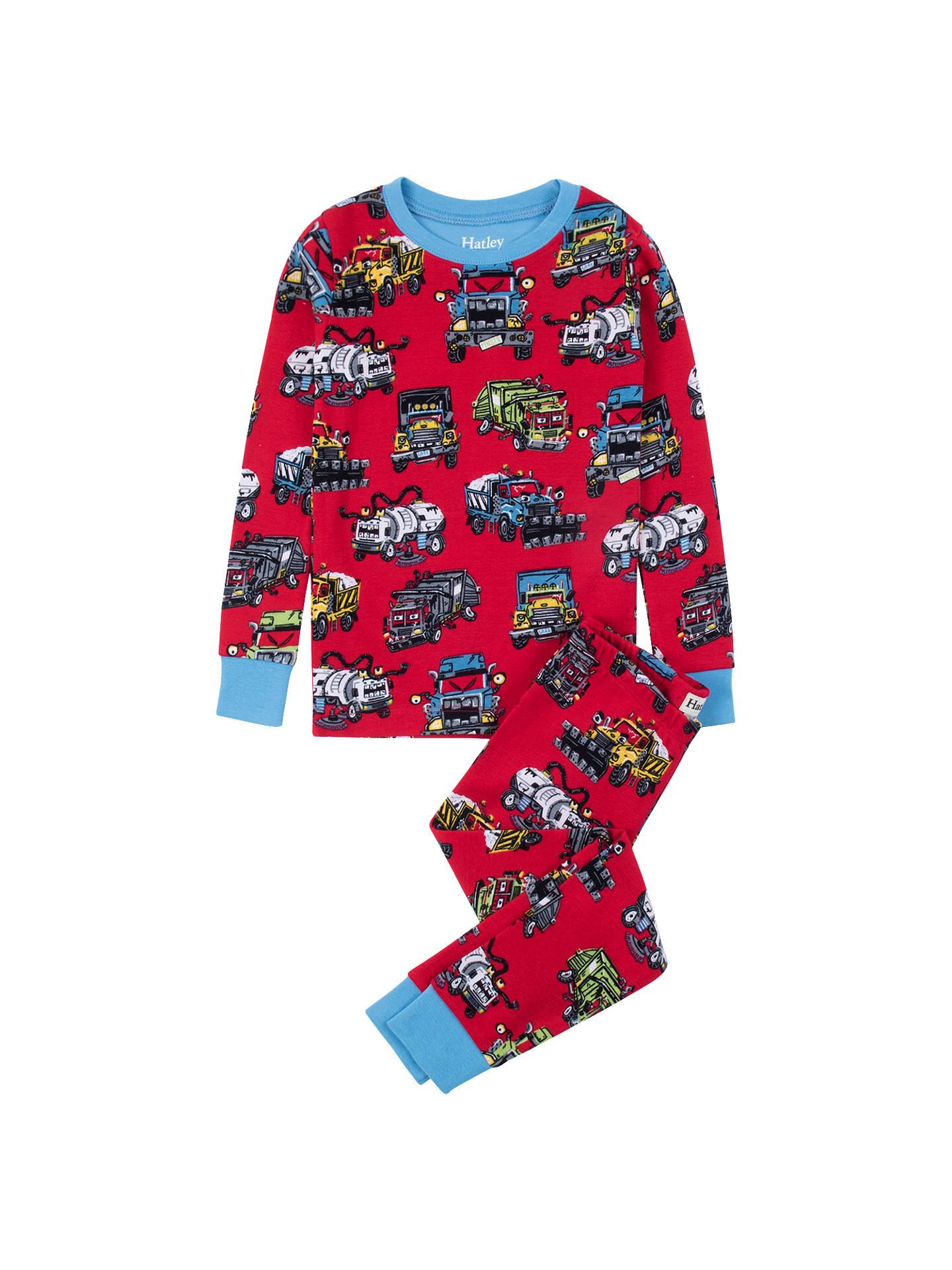 12ae39689a39 Hatley Boys  Monster Trucks Pyjamas
