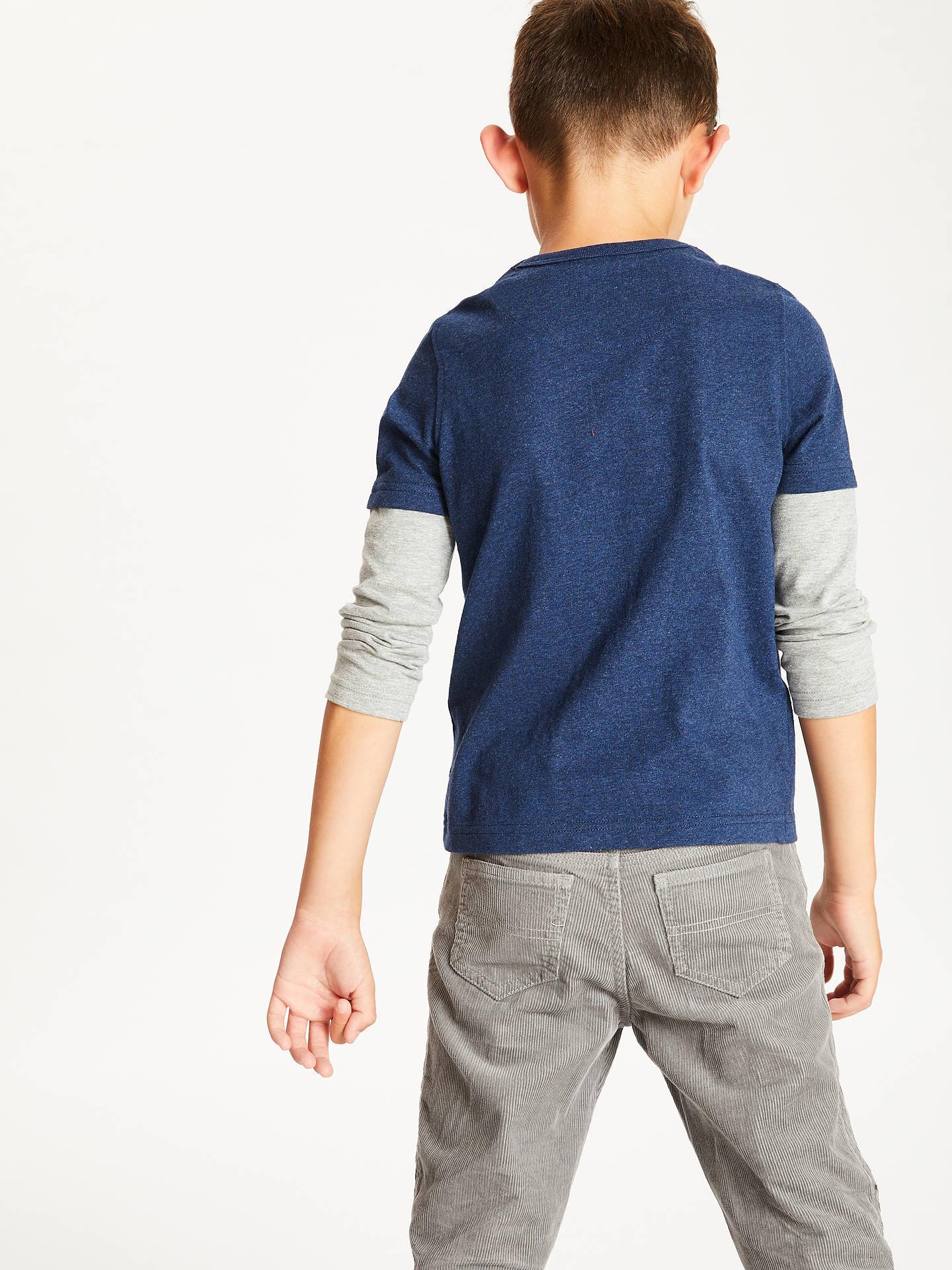 88b7cdd6 ... Buy John Lewis & Partners Boys' Dinosaur Glow In The Dark T-Shirt, ...