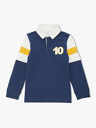 a2e090ca7 John Lewis   Partners Boys  Insert Sleeve Rugby Top