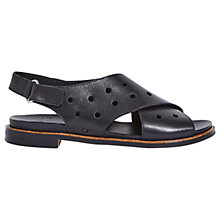 Buy Jigsaw Palavas Cross Strap Sandals Online at johnlewis.com