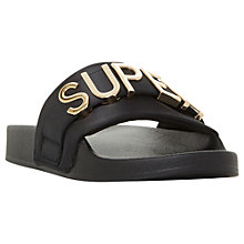 Buy Steve Madden Word Slider Sandals Online at johnlewis.com