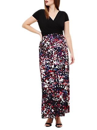 Studio 8 Felicity Dress, Black/Multi