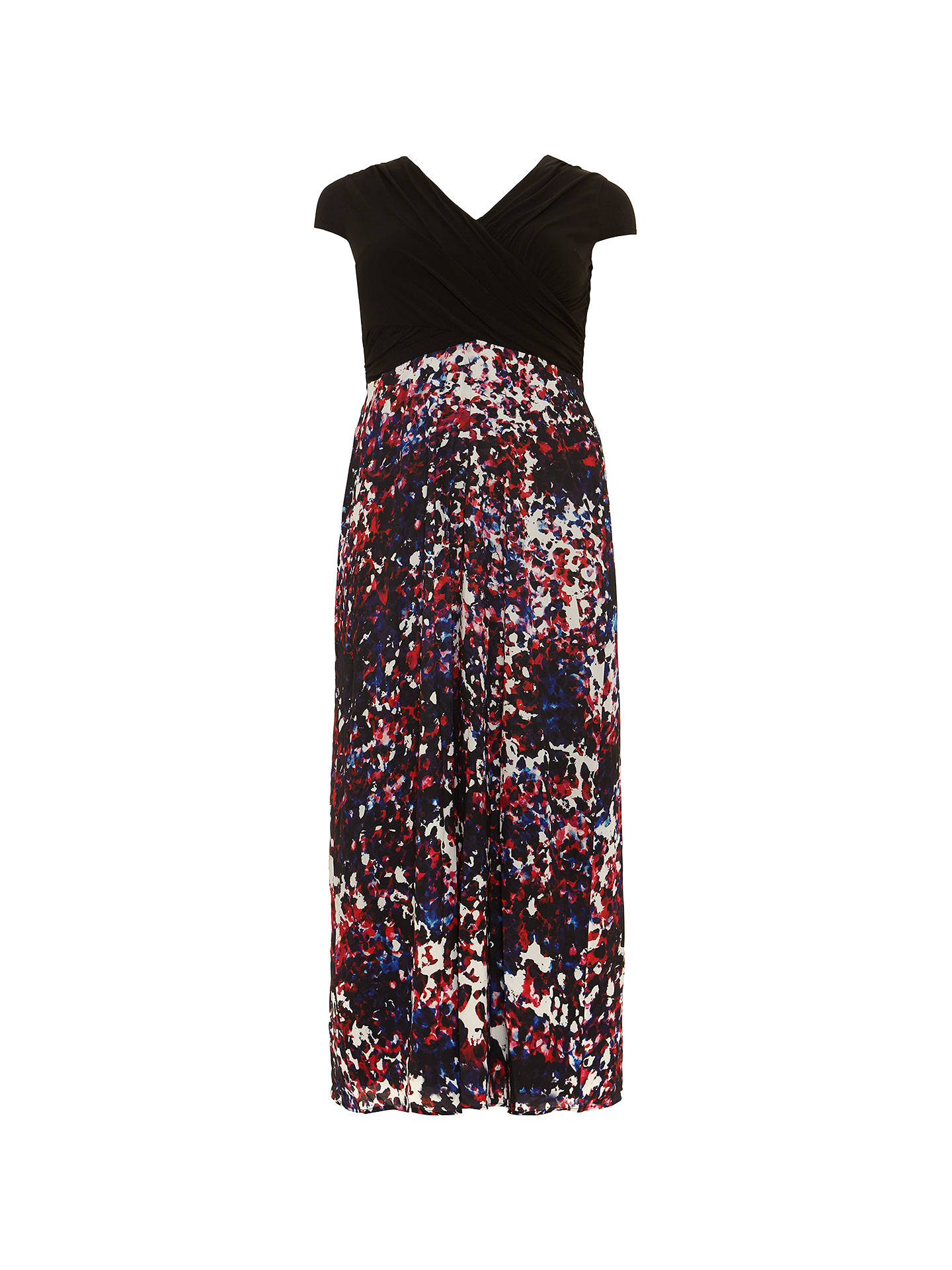 BuyStudio 8 Felicity Dress, Black/Multi, 14 Online at johnlewis.com