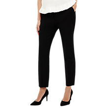 Buy Phase Eight Lucy-Lou Buckle Trousers, Black Online at johnlewis.com
