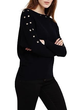 Phase Eight Esther Batwing Jumper, Navy