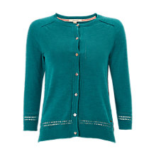 Buy White Stuff Palm Cotton Button Cardigan Online at johnlewis.com