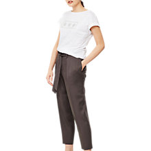 Buy Mint Velvet Belted Paperbag Trousers Online at johnlewis.com