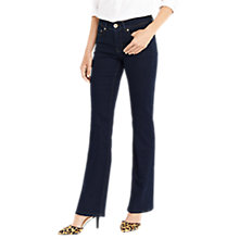 Buy Oasis Scarlet Bootcut Jeans, Dark Wash Online at johnlewis.com
