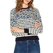 Buy Oasis Meadow Striped Jumper, Multi Online at johnlewis.com